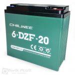 6 DZF 20 Olovna VRLA baterija 12V 20Ah/2 HR