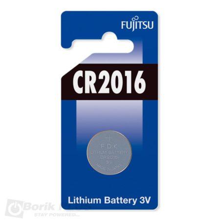 Fujitsu CR2016 baterija-litijum