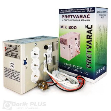 Pretvarač napona MIK 200-bez akumulatora