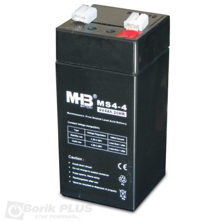 MS 4-4 Olovna VRLA baterija 4V 4Ah