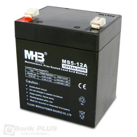 MS 5-12 Olovna VRLA baterija 12V 5Ah