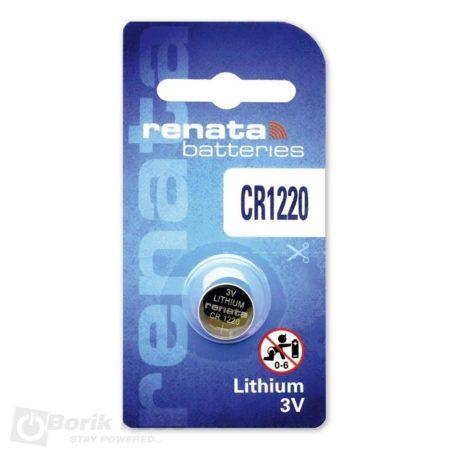 Renata CR1220 baterija-litijum