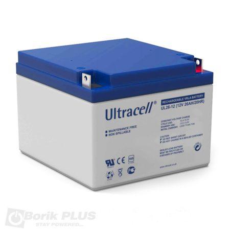 UL 1.3-12, Olovna VRLA baterija 12V 1.3Ah