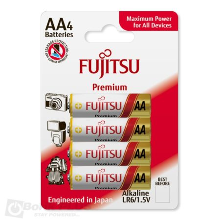 Fujitsu LR6 alkalna baterija-Premium