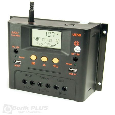 Kontroler punjenja solarnog sistema 12/24V 60A PWM
