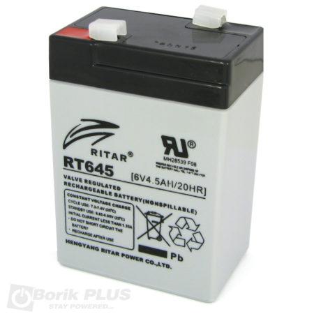 Ritar RT645, Olovna VRLA baterija 6V 4.5Ah