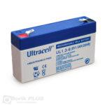 UL 1.3-6, Olovna VRLA baterija 6V 1.3Ah