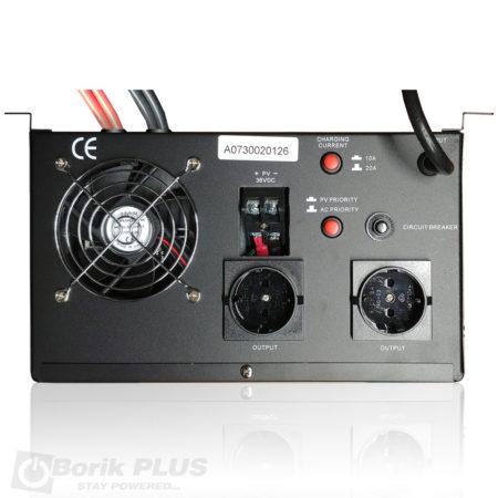 Pure sine wave DC-AC inverter 24V-230V,1800 W MPPT