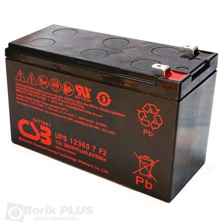 UPS123607 Olovna VRLA baterija 12V 7.2Ah