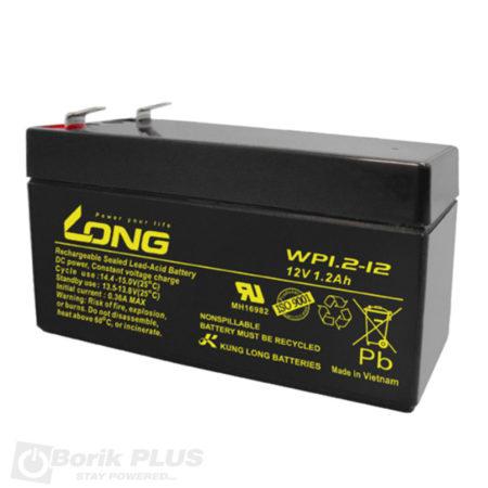 WP 1.2-12 Olovna VRLA baterija 12V 1.2Ah