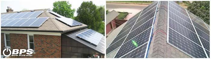Solarni paneli na krovu
