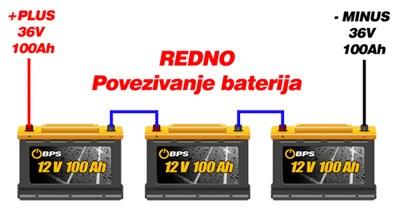 Redno povezivanje baterija
