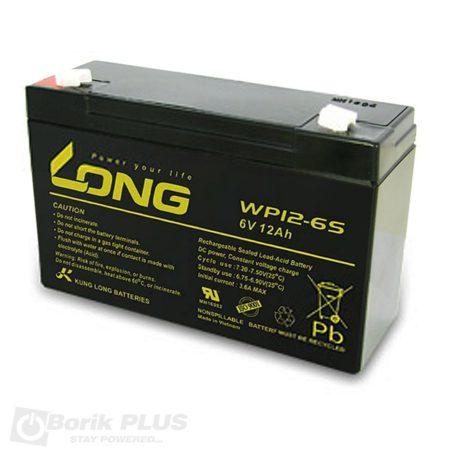 WP 12-6 Olovna VRLA baterija 6V 12Ah