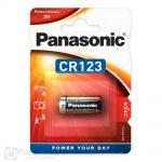 Panasonic CR123A baterija-litijum