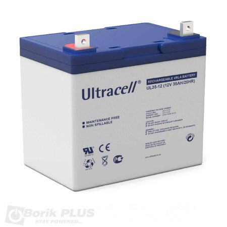 Ultracell UL 12-35, 12v 35ah akumulator