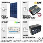 solarni komplet 170W