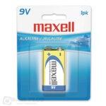 Maxell 9V alkalna-baterija